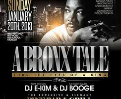 A Bronx Tale (MLK Weekend) Comedy Show & After Party