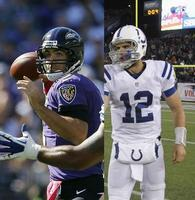 Indianapolis Colts vs. Baltimore Ravens NFL Playoffs...