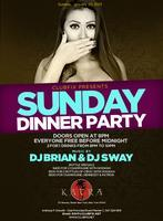 MLK WEEKEND SUNDAY DINNER PARTY AT KATRA LOUNGE (FREE...