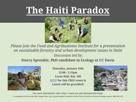 The Haiti Paradox