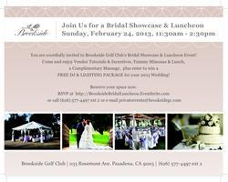 Brookside Golf Club Bridal Showcase & Luncheon