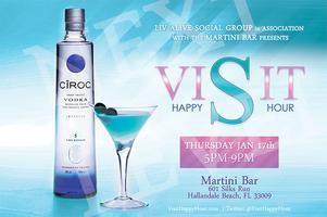 VISIT HAPPY HOUR @ MARTINI BAR at GULFSTREAM PARK...
