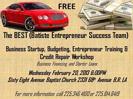 Business Startup, Budgeting, Entrepreneur Training &...