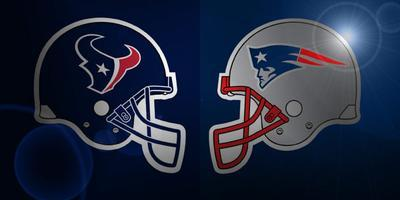 Houston Texans vs. New England Patriots NFL Playoffs...