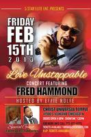 Love Unstoppable.......featuring Fred Hammond