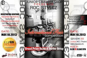 2013 ROC STYLEZ International Hair Competition