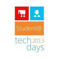 Student @TechDays 2013