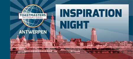 Toastmasters Antwerpen Inspiration Night