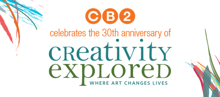 CB2 celebrates the 30th anniversary of Creativity...