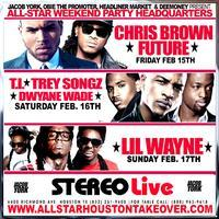 ALLSTAR WEEKEND PASS HOUSTON TAKEOVER @ STEREO LIVE,...