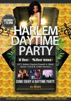 Harlem Daytime Party @ The Shrine