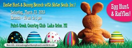 Egg Hunt & Bunny Brunch with Sister Souls, Inc.!