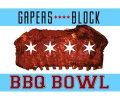 Gapers Block 2nd Annual BBQ Bowl