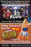 Superbowl XLVII Party - All Inclusive!!!