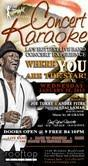 Sing at Concert Karaoke hosted by Joe Torry @ Rooftop...