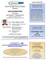 WCR presents LEAD GENERATION Luncheon