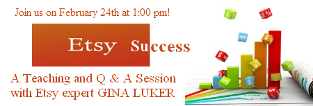 Etsy Success with Gina Luker