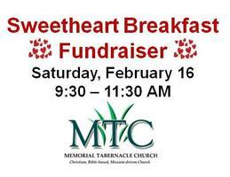 Vendor Registration | Annual Sweetheart Breakfast (Feb...