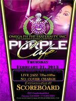 LIVE Jazz @ The Purple Cafe