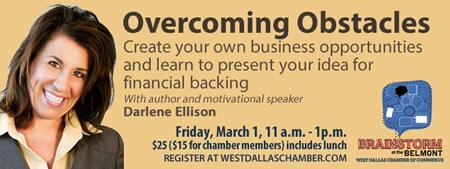 Brainstorm at the Belmont: Overcoming Obstacles!