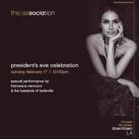 Presidents Eve Celebration feat. Francesca Vannucci &...