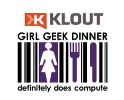 Bay Area Girl Geek Dinner #34: Sponsored by Klout!