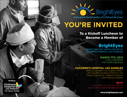 BrightEyes Kick-off Luncheon and Tour