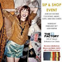 Sip & Shop: Enjoy Music, Complementary Drinks,...