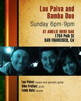 Brazilian Jazz and  Bossa Nova at Amelie Wine Bar SF