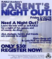 Parents Night Out | RABJJ Academy in Hamilton NJ