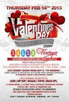 Valentine's Bday Dinner & Comedy at Salsa con Fuego