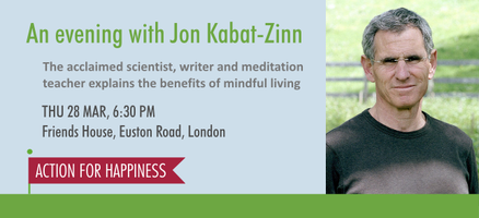 An evening with Jon Kabat-Zinn