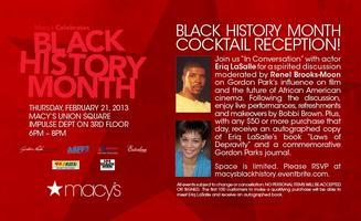 The 100 Blackmen & Macy's BHM Celebration After Party...