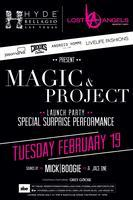 HYDE Bellagio Magic/Project/ENK launch party w/ Pusha T
