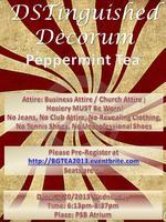DSTinguishedDecorum Peppermint Tea