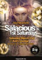 Salacious First Saturdays