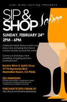 Celebrate Black History Month with a Sip & Shop Soiree