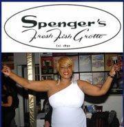 Spenger's Bar/Restaurant - Ms. Diamond!