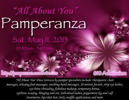 """ALL ABOUT YOU"" Pamperanza Pampering  Event"