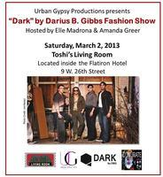 """Dark by DGB"" Fashion Show with Live Music"