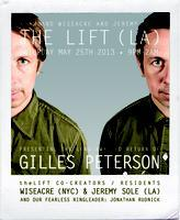 theLIFT presents the return of GILLES PETERSON