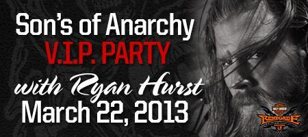 Sons of Anarchy V.I.P. Party