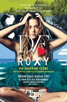 DVF Loves ROXY VIP Launch Party