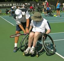 Wheelchair Tennis Clinic
