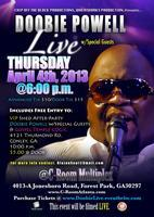 Doobie Powell LIVE! & VIP Shed After-Party