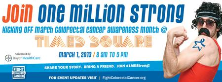 EVENT SIGN-UP: One Million Strong TIMES SQUARE Kick-Off