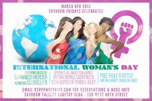 - The Friday's International Women's Day night At...