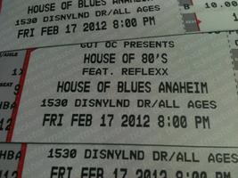 The Reflexx in concert at The House of Blues, Anaheim