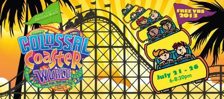 Colossal Coaster VBS 2013
