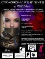 JaJo Couture Fashion & Birthday Soiree with The...